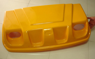 1.6mm Yellow Automobile Plastic Tray
