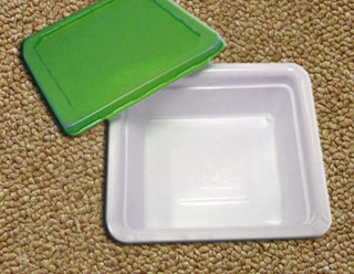 0.4mm Bicolour Plastic Food Container