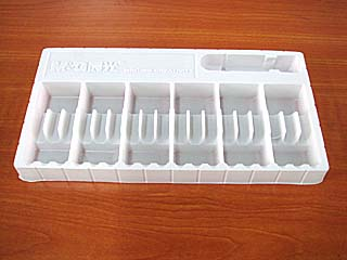 0.5mm White Stationary PS Tray