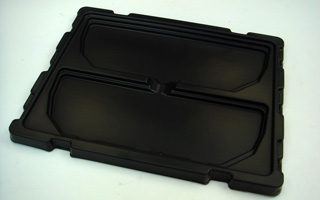1.5mm Black Automobile Plastic Tray