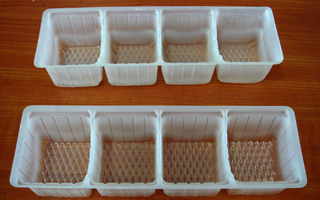 0.4mm Frosted Food PP Container