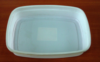 0.5mm White HIPS Plastic Tray