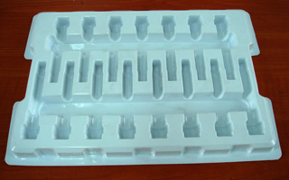 0.5mm White Electronic Blister Packaging