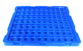 1.3mm Blue Automobile Plastic Tray