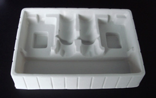 0.5mm White Cosmetic PS Tray