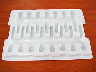0.6mm Electronic Product Heat-Sealed Blister Packaging