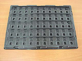 1.3mm Black Industial-parts PS Tray